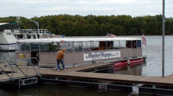 Boat Tours and River Cruises nearThe Natural Gait Harpers Ferry Iowa